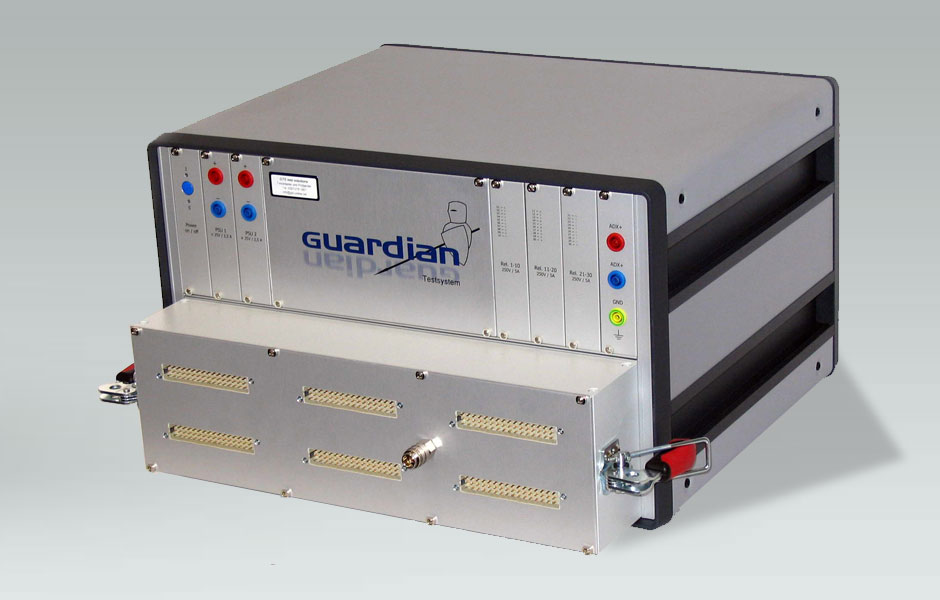 Guardian Testsystem: Universeller und modularer Funktionstester