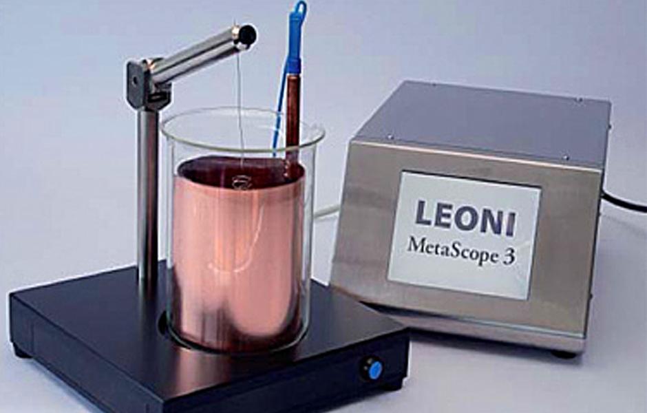 MetaScope 3 - Spezialprüfgerät zur Schichtdickenmessung von Drähten und Litzen