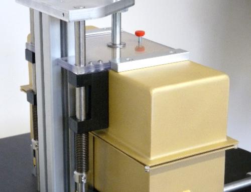 Prüfadapter mit HF-Abschirmkammer