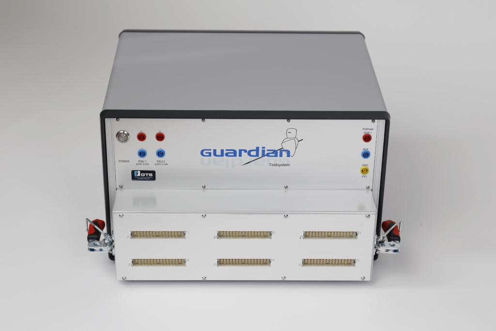 Guardian Funktionstester (FCT/FKT-System) Frontansicht