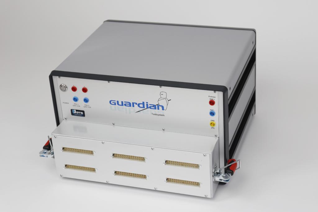 Guardian Funktionstester (FCT/FKT-System) schräge Frontansicht