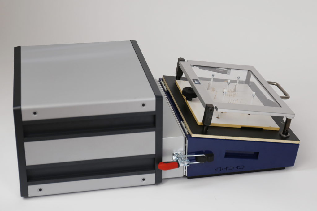 Guardian Funktionstester (FCT/FKT-System) mit PA450-Prüfadapter