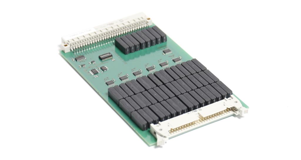MSU-Karte: Messstellenumschalter (engl. Channel Switch) mit 48-Kanal-Relaismatrix Ansicht 1