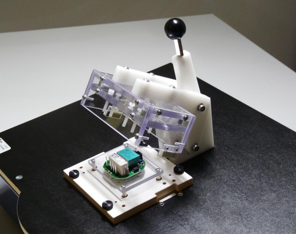 KS50: Schnellspann-Niederhalter für Prüfadapter