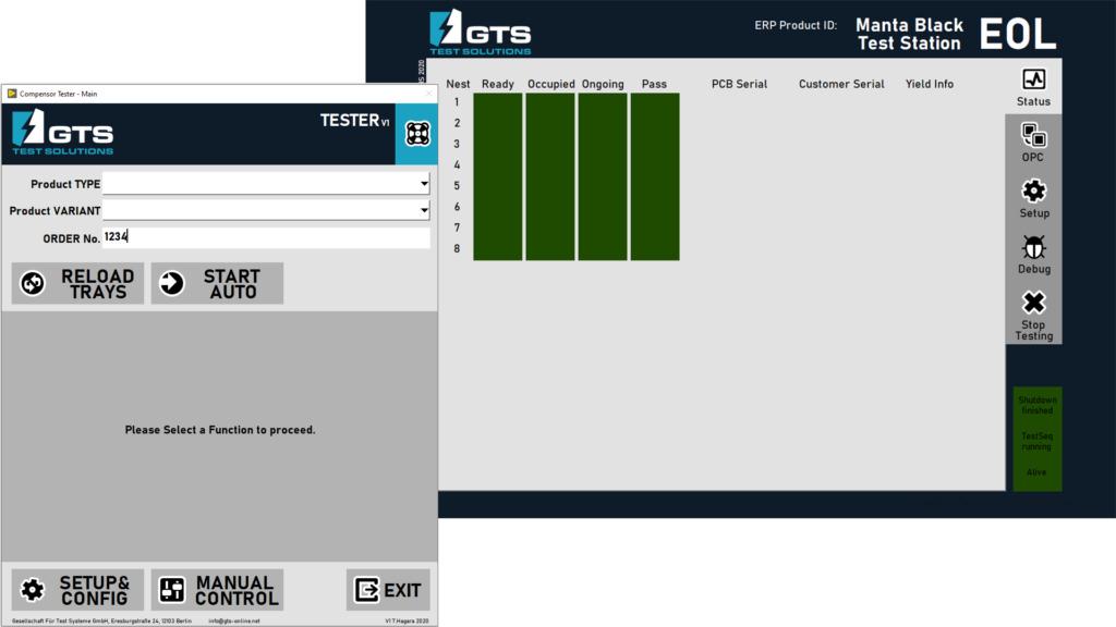 Individuelles GUI von NI TestStand Entwickler