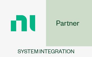 NI Alliance Partner (System Integration) Abzeichen