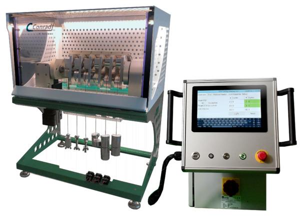 Biegewechselprüfmaschine Typ 101: Biegeprüfung für Kabel und Draht Ansicht 1