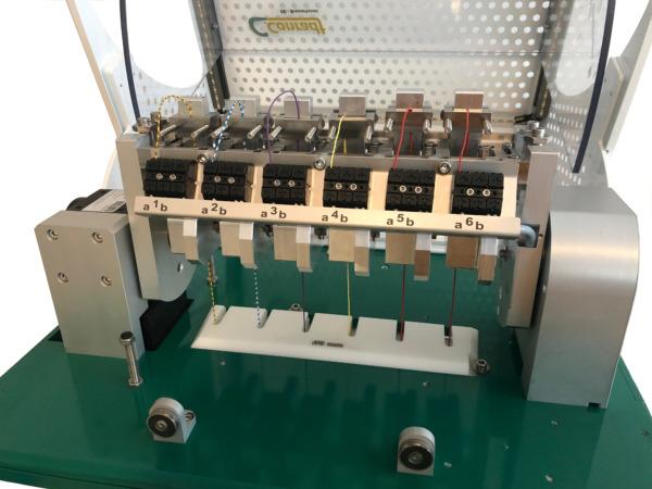 Biegewechselprüfmaschine Typ 101: Biegeprüfung für Kabel und Draht Ansicht 2