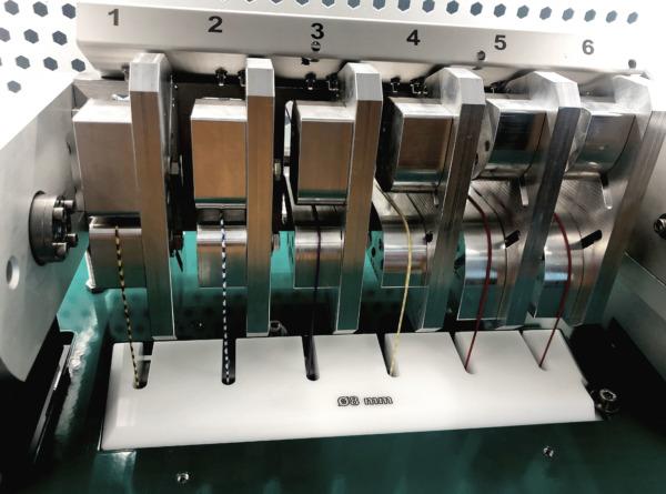 Biegewechselprüfmaschine Typ 101: Biegeprüfung für Kabel und Draht Ansicht 3