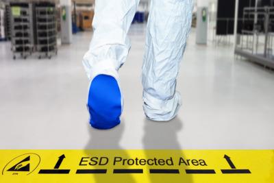 ESD-Berater bzw. ESD-Koordinator hat ESD-Schutzzone eingerichtet